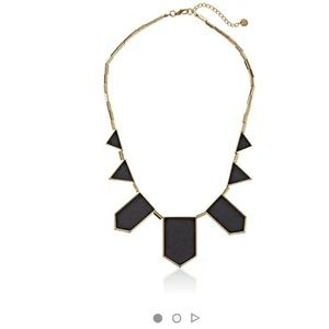 House of Harlow 1960 Jewelry - House of Harlow Leather Stations Necklace